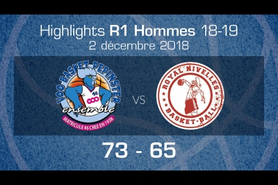 Highlights : Pepinster - Nivelles
